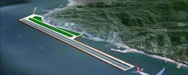 Rize Artvin Havalimanı İhalesi İptal Edildi