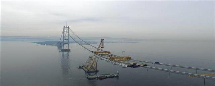 Körfez Geçiş Köprüsü'nden Son Görüntüler