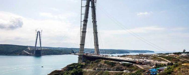3'üncü Köprü İnşaatı Son Durum