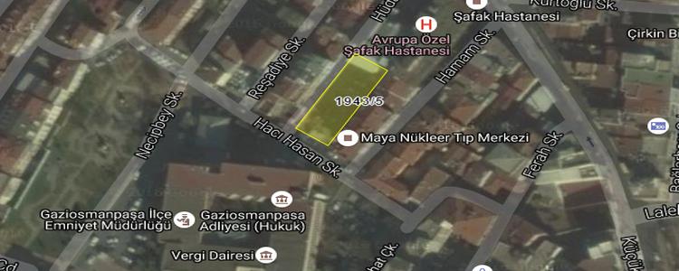 Gaziosmanpaşa Belediyesi'nden Satılık Arsa