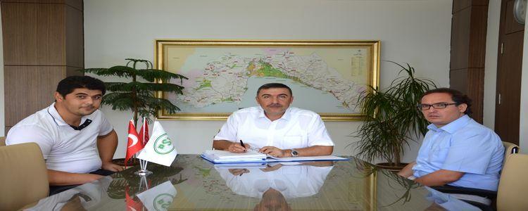 Aksu Karaöz Çepeli Göleti Ve Sulamasi İkmalinin Sözleşmesi İmzalandı!
