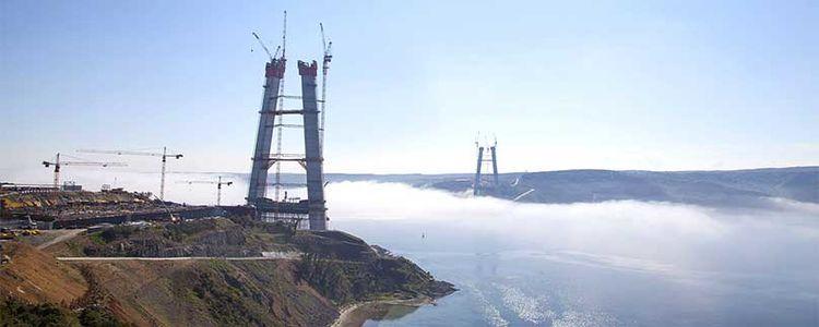 Üçüncü Köprü Kulelerinde Son 22 Metre!