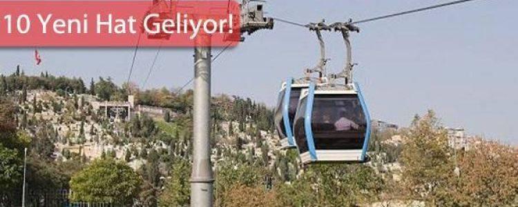 İstanbul Teleferik Projeleri