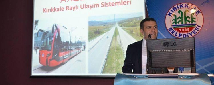 Kırıkkale Tramvay Projesi Kaleray Görücüye Çıktı