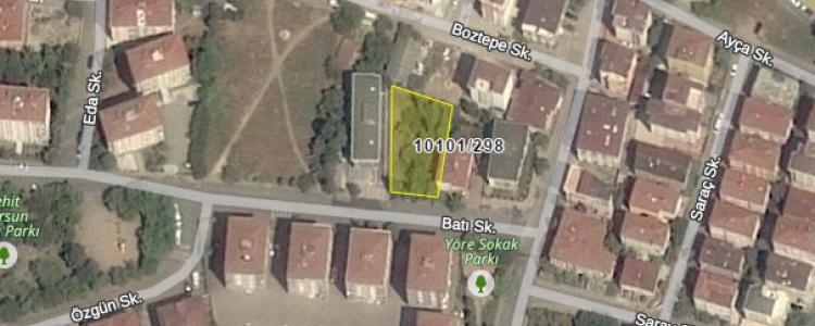İstanbul Defterdarlığı'ndan Kartal'da Satılık Arsa