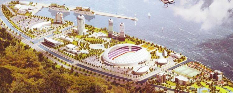Bu Projenin Adı 'RTE Spor Kompleksi' Olacak