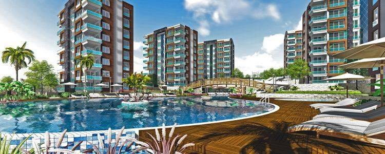 Antalya Panorama Evleri Projesinde 350 Bin TL'den Başlayan Fiyatlarla
