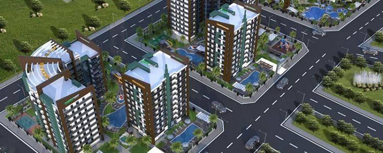 Tema City Adana'da Yükseliyor