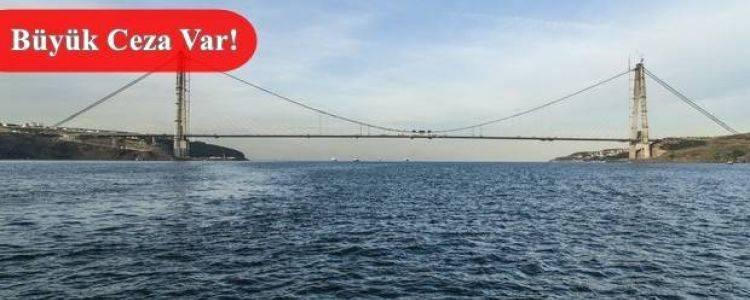 3. Köprü'den Kaçak Geçen Yandı