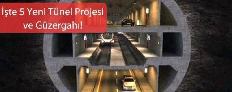 Yeni Planlanan Tünel Projeleri Bu Bölgelerde Fiyatları Katlayacak