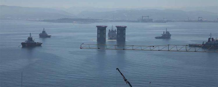 İzmit'te Dünyanın En Büyük Dördüncü Asma Köprüsü Yükseliyor
