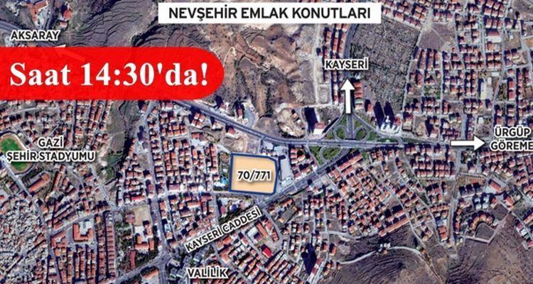 Nevşehir Emlak Konutları İhalesi Yarın