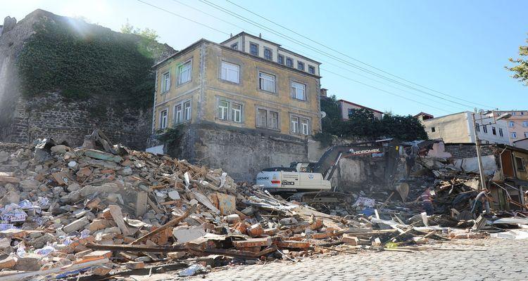 Trabzon Tabakhane Kentsel Dönüşüm Projesi'nde 430 Bina Yıkıldı!