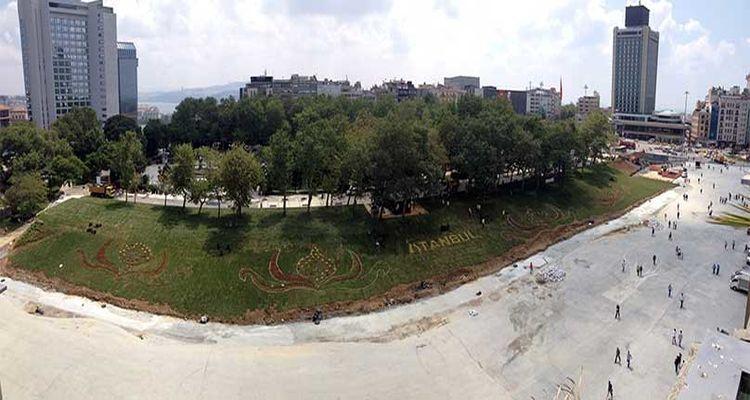 İstanbul Büyükşehir Belediyesi'nden Gezi Parkı Açıklaması!