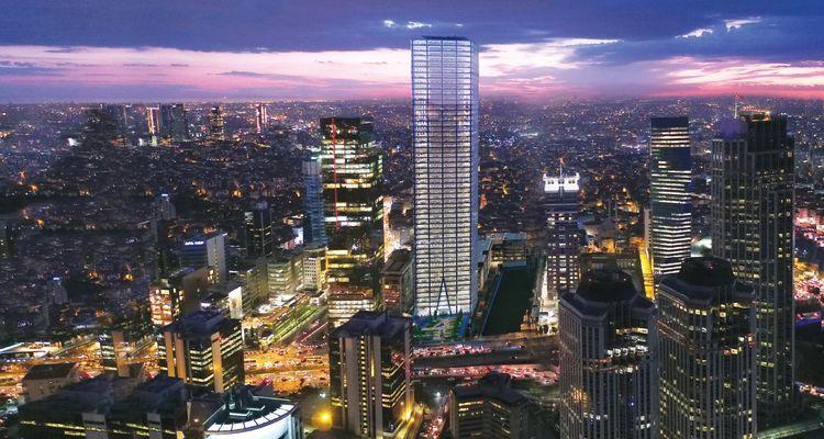 İstanbul Tower 205 Projesi Levent'te Yükseliyor