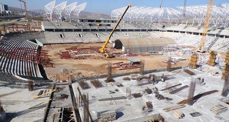 Malatya Arena Stadyumu İnşaatı Beklenenden Erken Bitecek