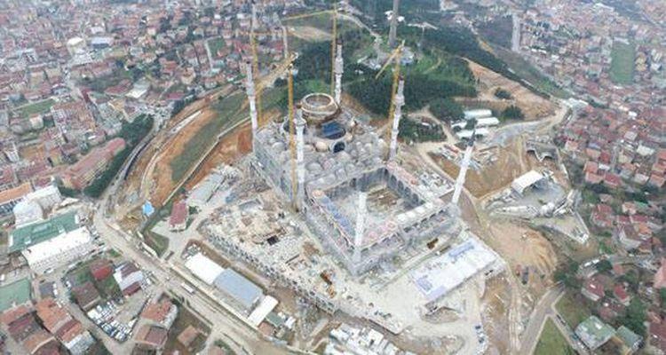 Çamlıca Camii Son Hali