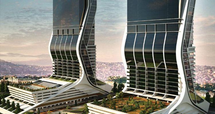 Folkart Towers Projesi 40 Katlı 2 Kuleden Oluşuyor