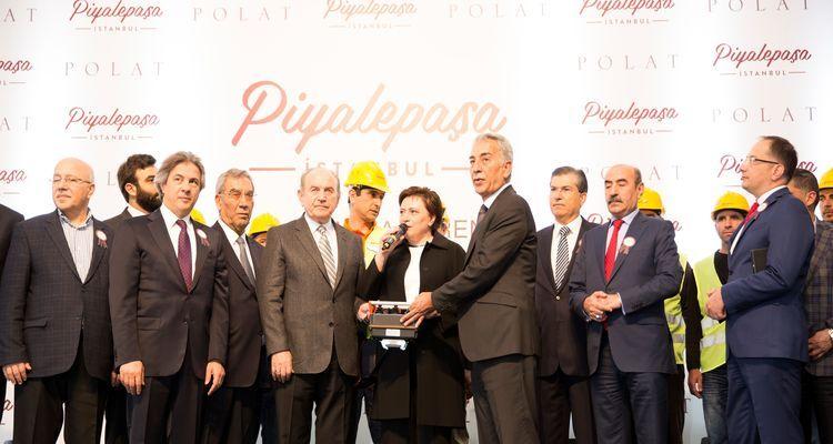 Piyalepaşa İstanbul'un Temeli Atıldı