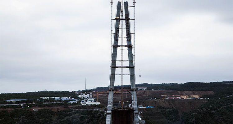 Üçüncü Köprü Kulelerinde Son 10 Metre!
