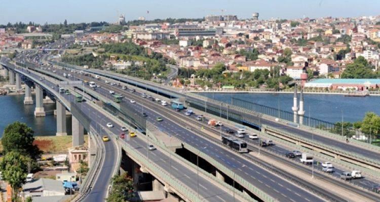 Haliç Köprüsü 14 Gün Boyunca Bu Saatlerde Kapalı