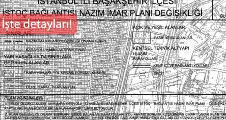 Kuzey Marmara Otoyolu İstoç Bağlantısı 5000'lik Planı Çıktı