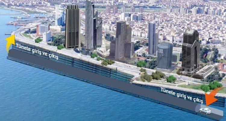 İnşaat Firmalarından İBB'ye Zeytinburnu İçin Çılgın Proje