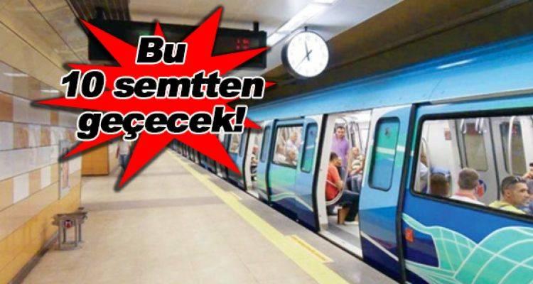 Yenikapı Sefaköy Metro Hattı Durakları Netleşti!