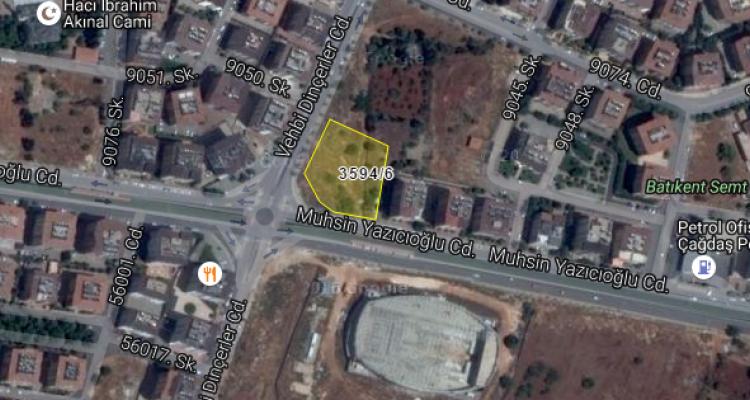 Şehitkamil Belediyesi'nden Batıkent'te Satılık Arsa