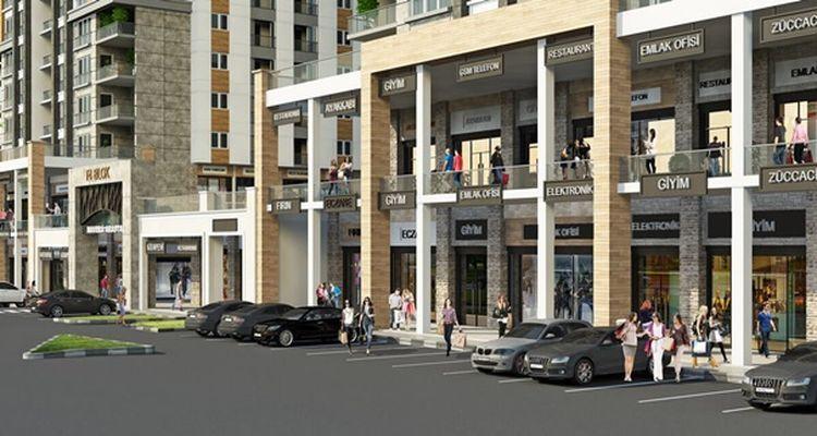 Başakşehir Merkez Çarşı Dükkanları Satışa Çıkıyor