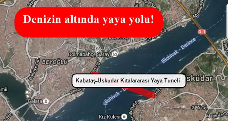 İstanbul'a Yeni Bir Çılgın Proje Daha Geliyor