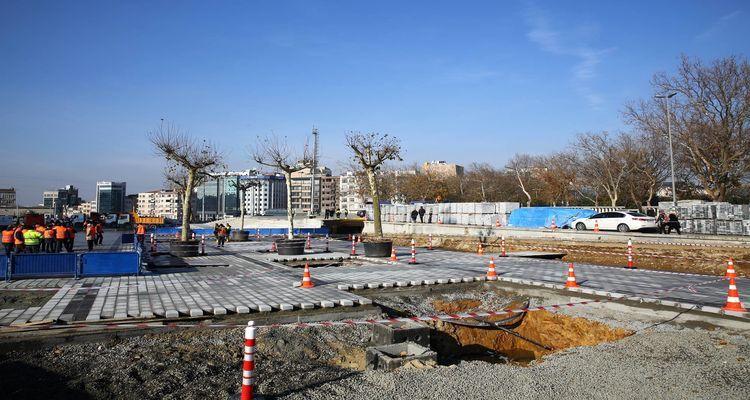 Taksim'e Yayalaştırma Projesi Kapsamında 58 Ağaç Dikilecek