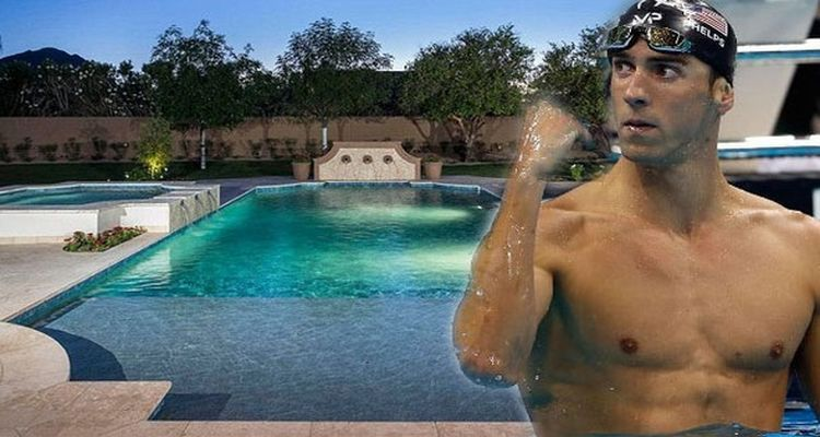 Michael Phelps'in Arizona'daki Muhteşem Malikanesi