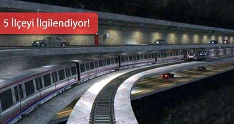 3 Katlı Metro ve Karayolu Boğaz Geçişi Projesinde Önemli Gelişme