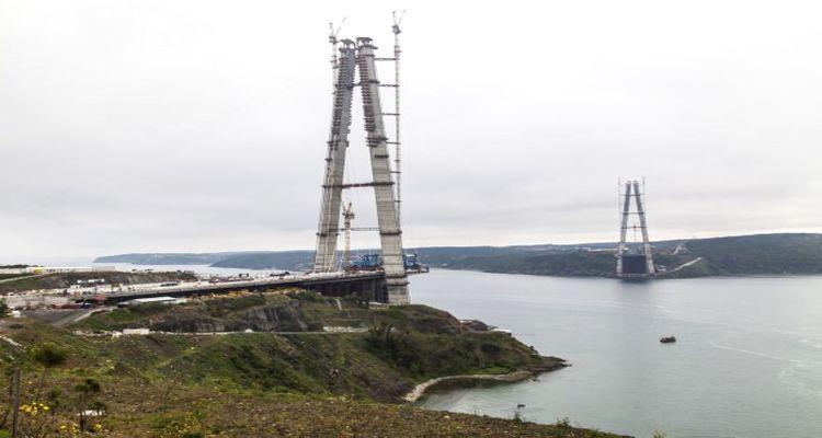 3. Köprü Projesi İnşaatı Durduruldu