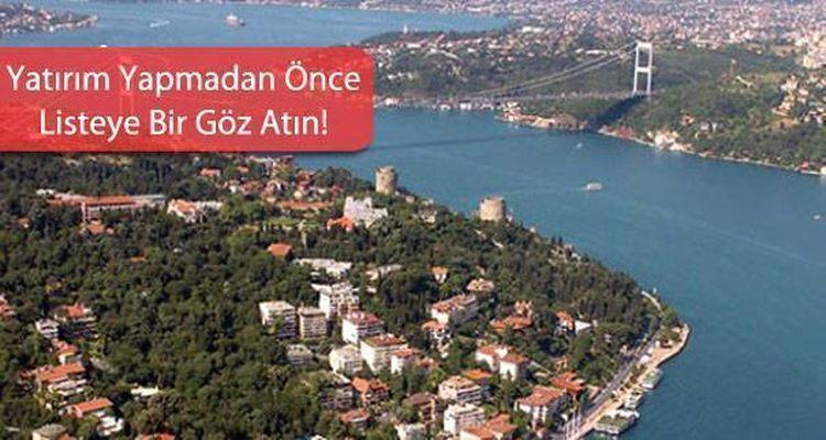 İstanbul'da Konut Metrekare Fiyatları Hangi İlçede Ne Kadar Oldu?
