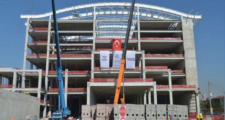 Ankara YHT Garı İnşaatında yarıya gelindi!
