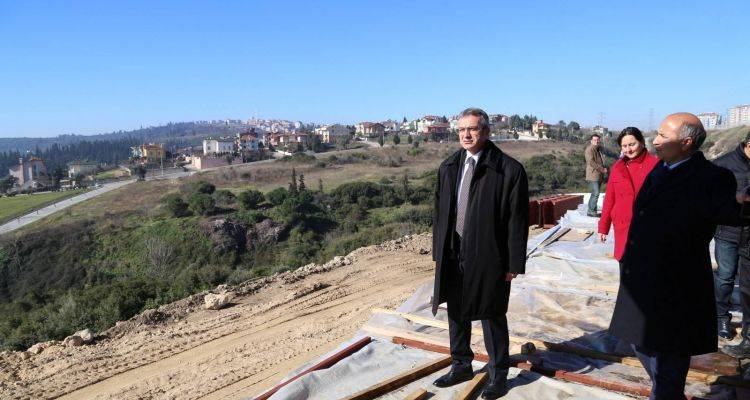 Eskihisar Macera ve Aksiyon Parkı Hızla İlerliyor