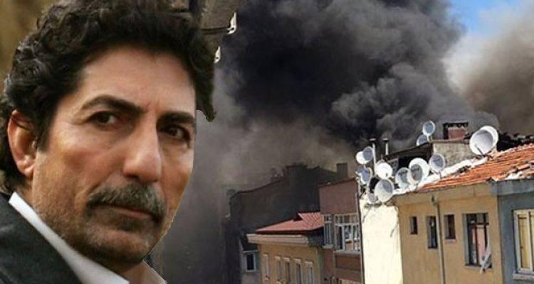 Mustafa Uğurlu'nun Cihangir'deki Evinde Yangın Çıktı
