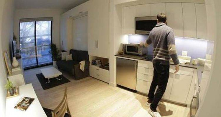 New York'un İlk Mikro Evleri