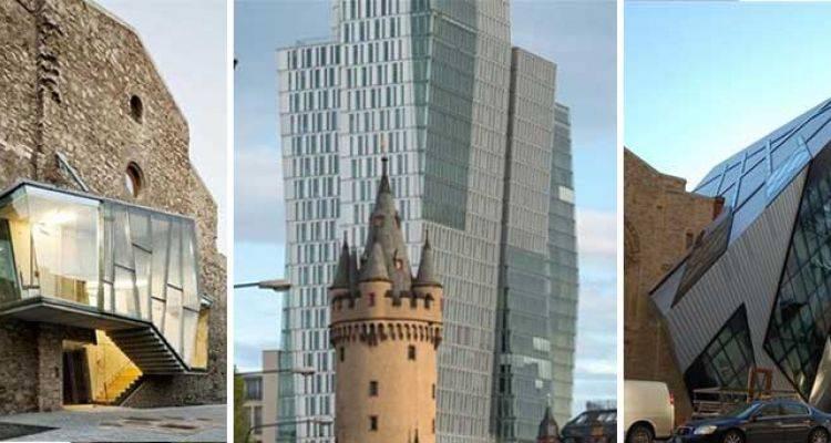 Eski ile Yeni Mimarinin İç İçe Geçtiği 27 Fotoğraf