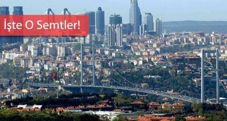 İstanbul'da İmar Planı Askıya Çıkan 12 Semt
