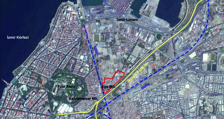 İzmir Büyükşehir Ege Mahallesi için 332 milyonluk ihale yapacak
