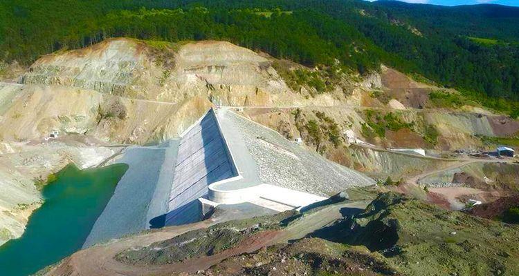 Kunduzlu Barajı'nda işlem tamam
