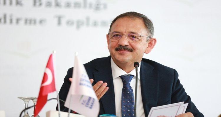 Bakan Mehmet Özhaseki: '7,5 milyonluk binanın dönüşmesini hedefliyoruz'