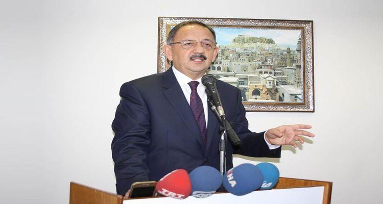 Bakan Özhaseki: Kentsel dönüşüm tasarısı yakında yasalaşacak
