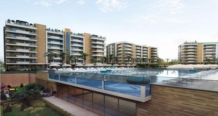 Deluxe Antalya projesi zengin donatılarıyla eşsiz bir yaşam sunuyor
