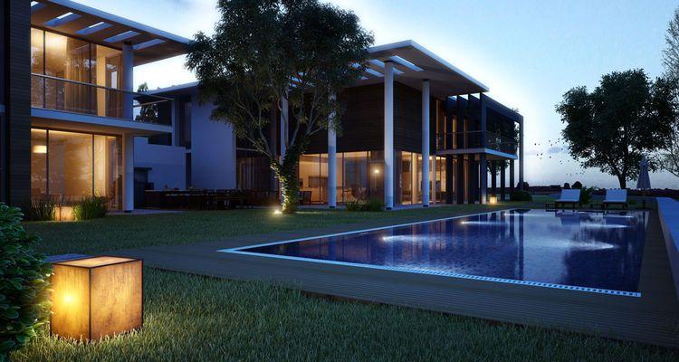 Doruk Villas Yalıkavak projesi görkemli yapısıyla büyülüyor