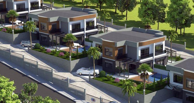 Grey House Bahçecik'te 640 bin TL'ye villa sahibi olma şansı