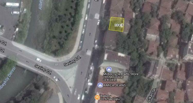 İBB Alibeyköy'deki arsasını 1 milyon 989 bin TL'den satacak